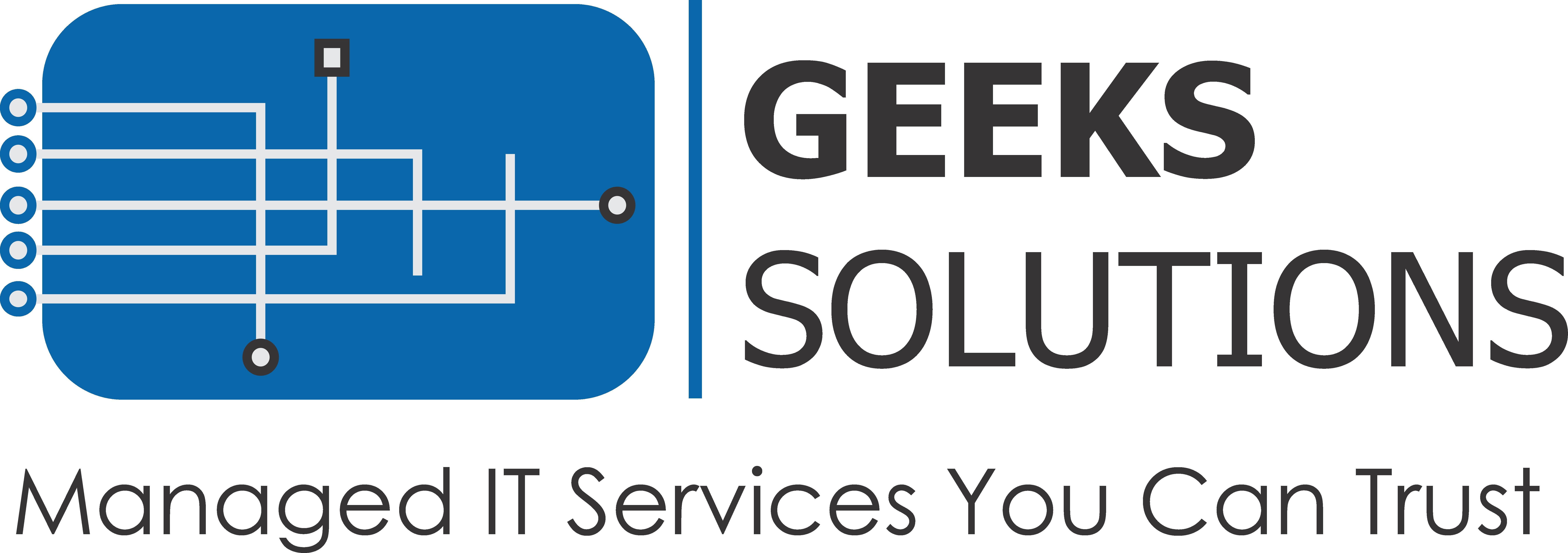 Geeks Solutions | Blog